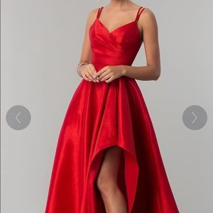 Size 0 Red Prom Dress